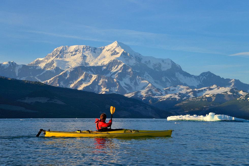 Kayak Root Glacier