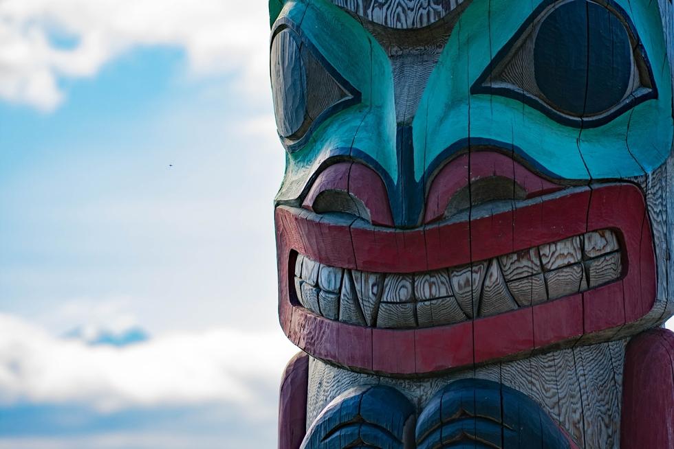 Haines Tlingit Native Totempaal