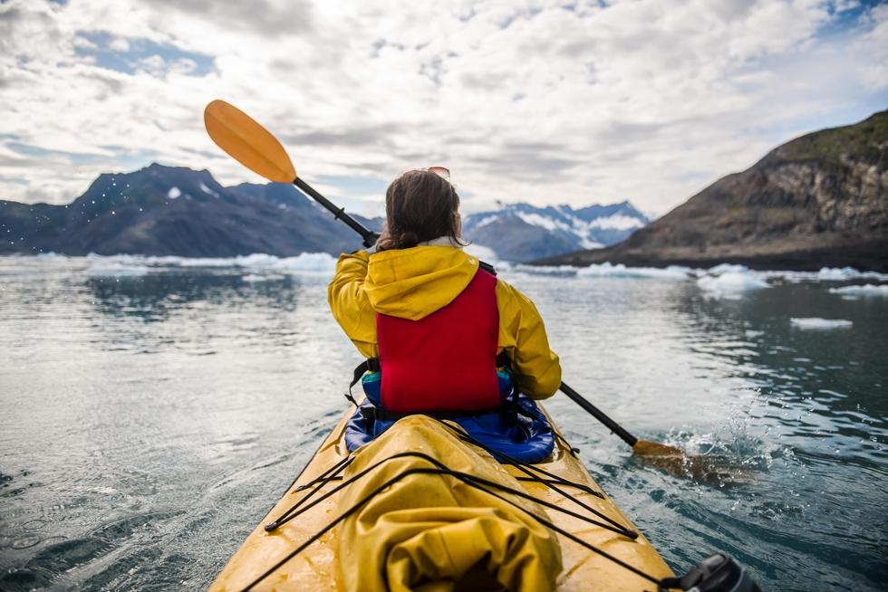 Kajak Misty Fjords Alaska Excursie