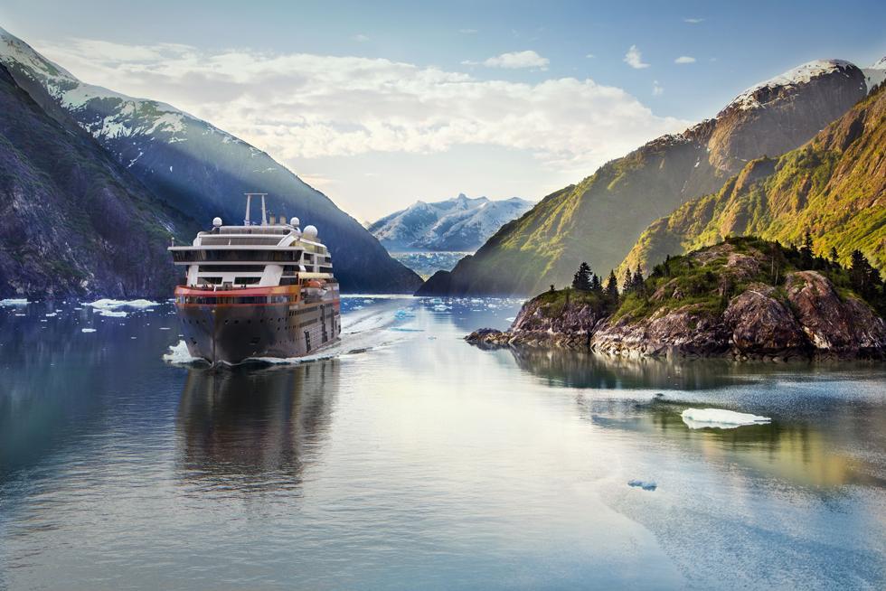Ms Roald Amundsen Tracy Arm Fjord Alaska