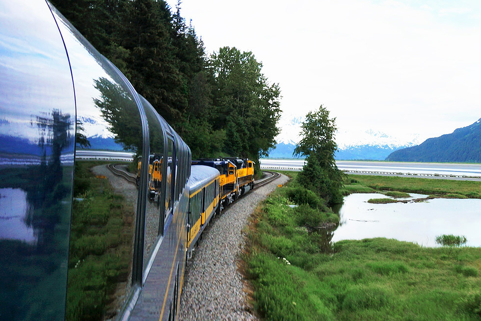 Panorama Train Coastal Train Kenai