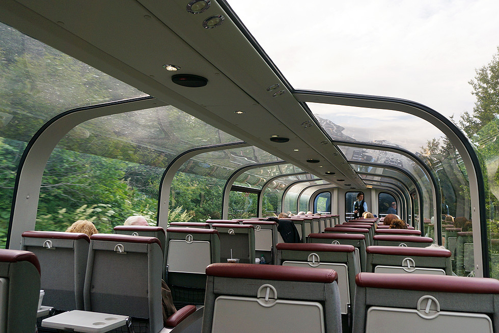 Panorama Train Coastal Train