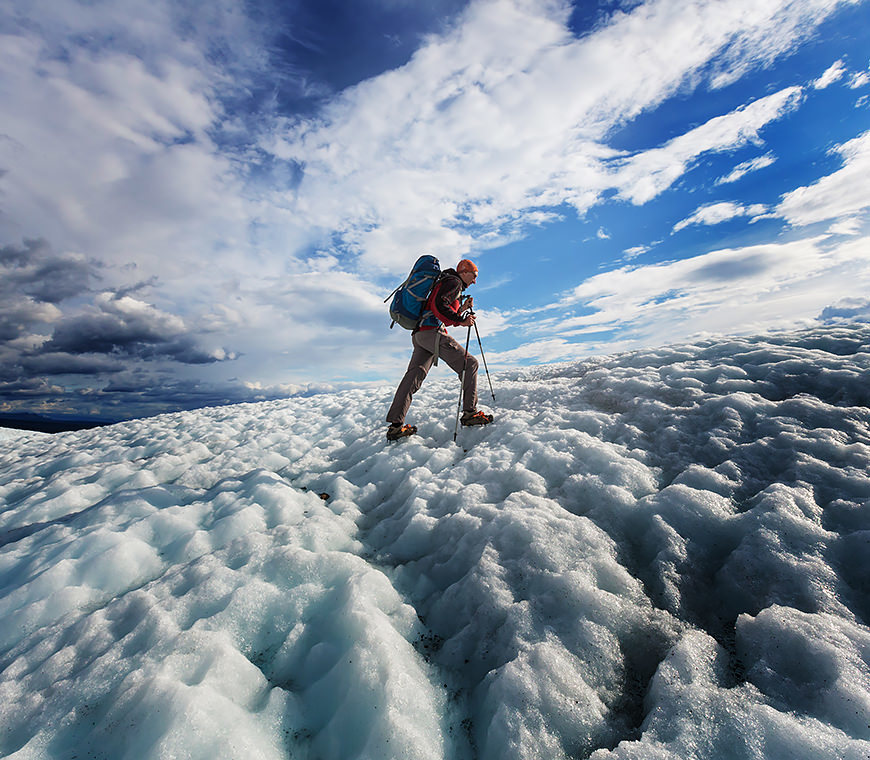Wandelen Alaska